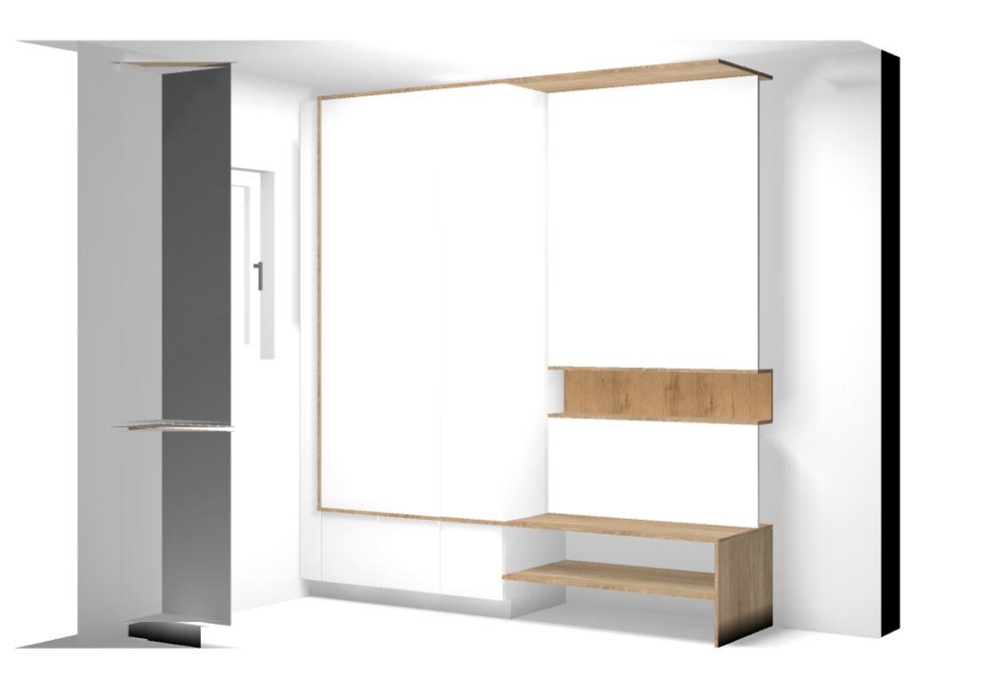 Vorzimmer 3D_Plan