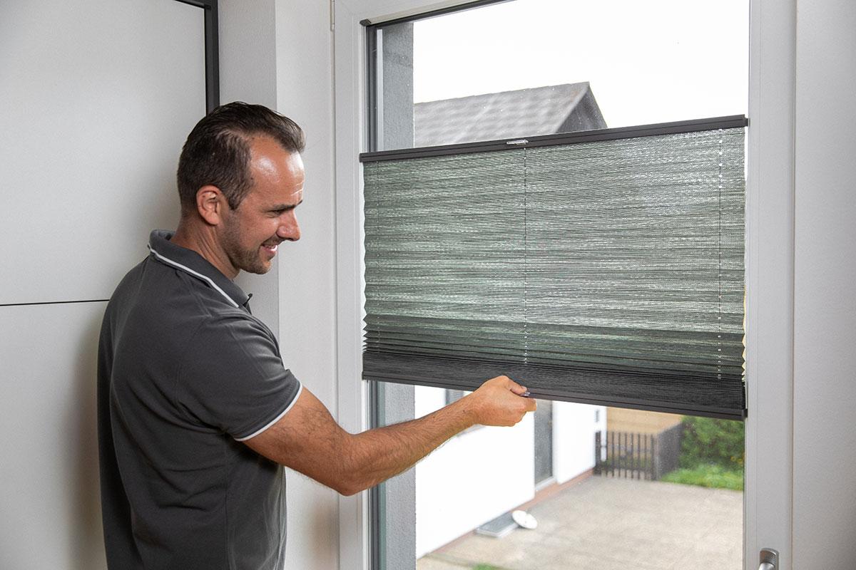 Fensterplissees für jede Fenstergröße